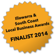 Illawarra & South Coast Local Business Awards Finalist 2014